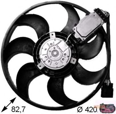 FAN MOTORU (VW: TOUAREG 2.5 3.2)