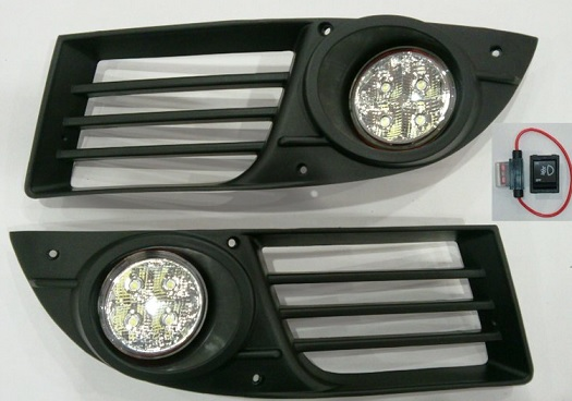 G Plast Power Led Sis Farı Seti Fiat Doblo 2006 20