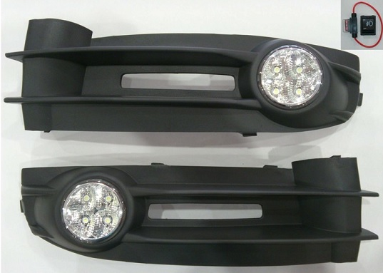 G Plast Power Led Sis Farı Seti Volkswagen Caddy 2