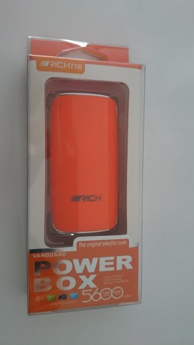 Rich Power Bank 5600mAh Turuncu Renk