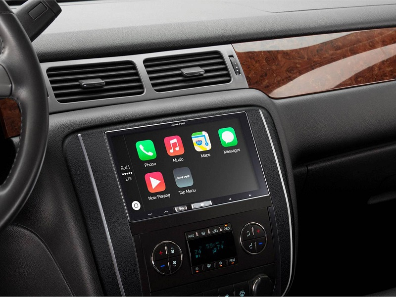 Alpine iLX-700 - Apple CarPlay tabanlı Uygulama Li