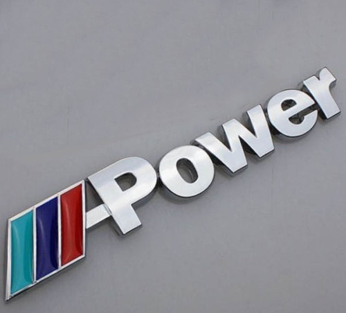 BMW Power Bagaj Logosu