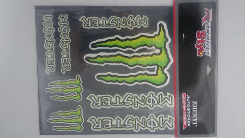 Monster Sticker Set 2