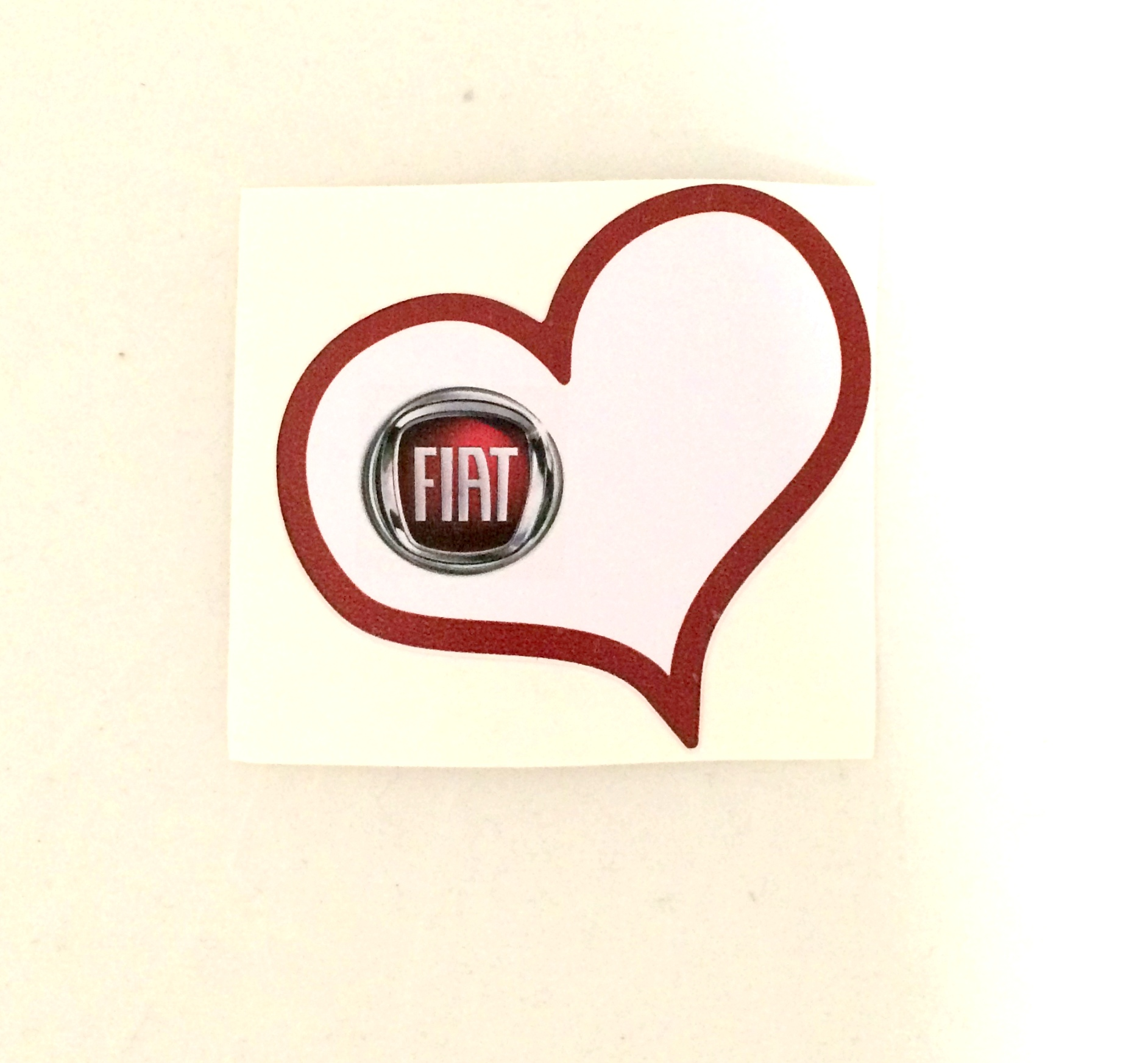 Fiat Love Sticker 10'lu Paket