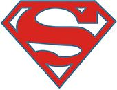 Superman Sticker 10'lu Paket