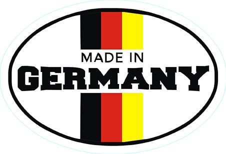 Made İn Germany Sticker 10'lu Paket