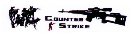 Counter Strike Aluminyum Dizayn Sticker 9 x 2 cm