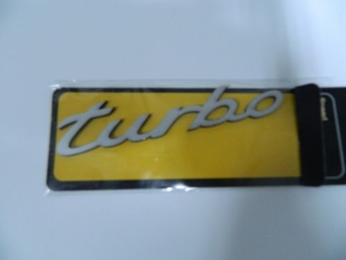Speed Turbo Sticker 11x2cm Gri