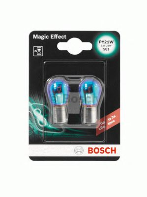 AMPUL 12V PY21W BAU15S MAGIC EFFECT