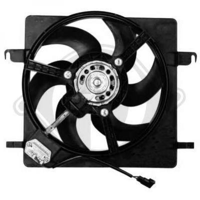 FAN MOTORU RFM1842 FORD FOCUS 1,4-1,6-1,816V 1999-2003